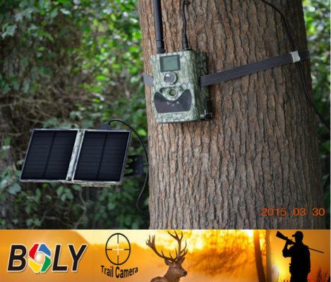 Scoutguard solar panel